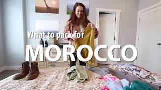 What to Pack for a trip to Morroco