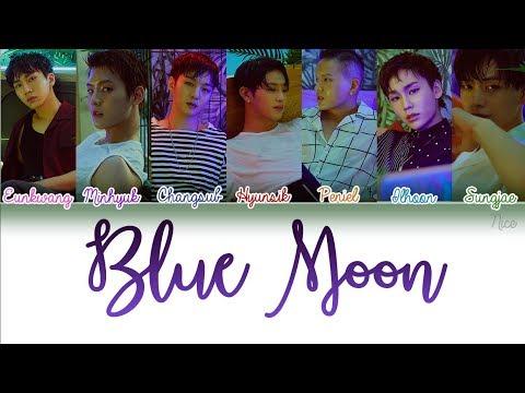 BTOB (비투비) -BLUE MOON Lyrics (Color Coded/ENG/ROM/HAN/PTBR) 