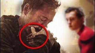 ¿Por que Razón Tony Stark ''Iron-Man'' Llora en el Trailer de los vengadores Infinitywar?