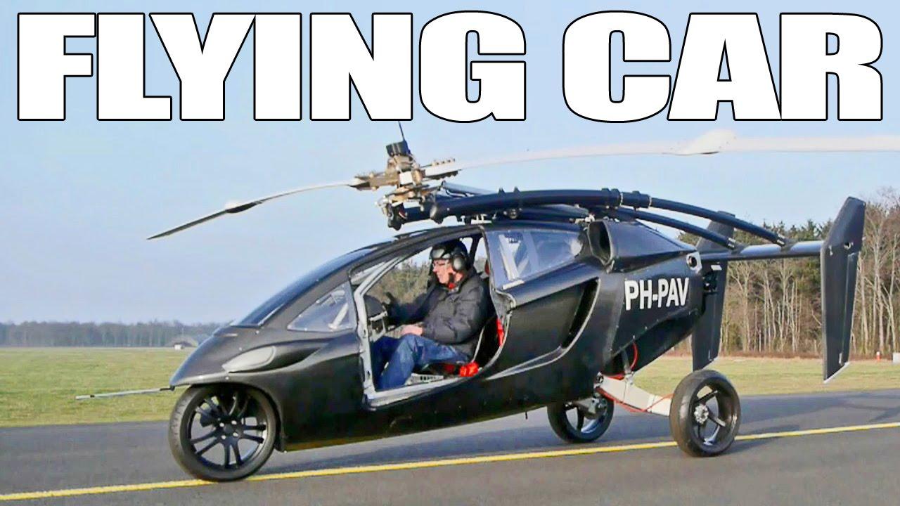 Летяща кола PH-PAV Трейлър