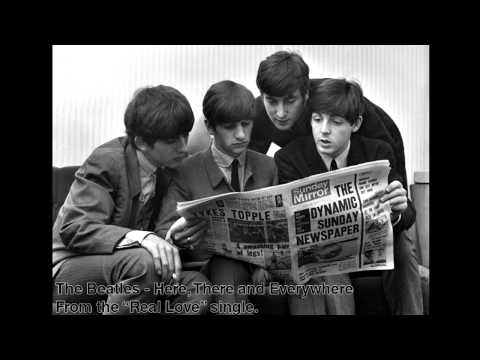 The Beatles - Here, There and Everywhere (Real Love single)