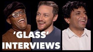 GLASS Interviews: M. Night Shyamalan, James McAvoy, Samuel L. Jackson, Paulson, Taylor-Joy, Clark