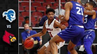 Seton Hall vs. Louisville Men's Basketball Highlights (2020-21)
