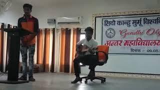 Mere Watan Ke Logo Song Cover By Diganta Singh And Guitarist By Vipul Gupta