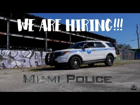 Miami Police Recruitment Video