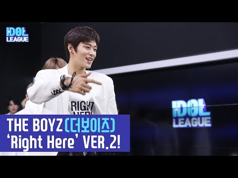 (ENG SUB) 'THE BOYZ(더보이즈) - Right Here' VER.2! - (3/3) [IDOL LEAGUE]