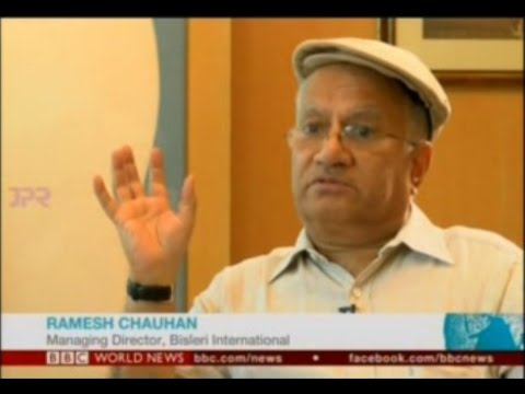 Ramesh Chauhan at the BBC - India Business Report