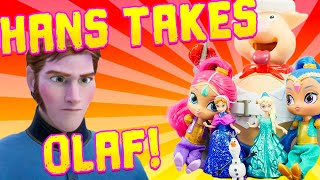 Disney Frozen Pop the Pig Game! W/ Queen Elsa & Shimmer and Shine
