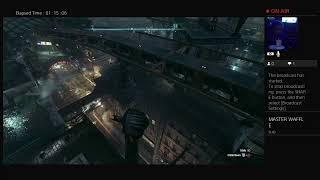 Batman arkham knight part 1 I need to protect Gotham - YouTube