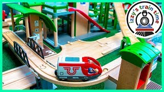 DAD SOLO TRACK! Thomas and Friends PURE BRIO CITY! Fun Toy Trains for Kids!