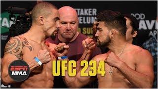 UFC 234 Weigh-Ins [FULL] | ESPN MMA