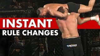 10 Precise Moments That Forever Changed MMA Rules
