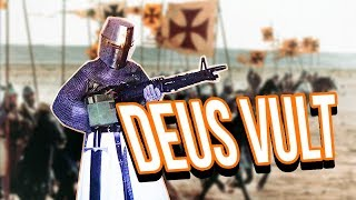 TEUTONIC KNIGHT CRUSADE - Age of Empires 2 Gameplay \ AoE2HD Gameplay