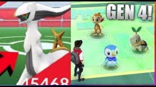 Pokemon GO GENERATION 4 RELEASE nach ULTRA BONUS EVENT