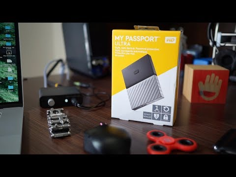 video Ổ Cứng Di Động WD My Passport Ultra 1TB