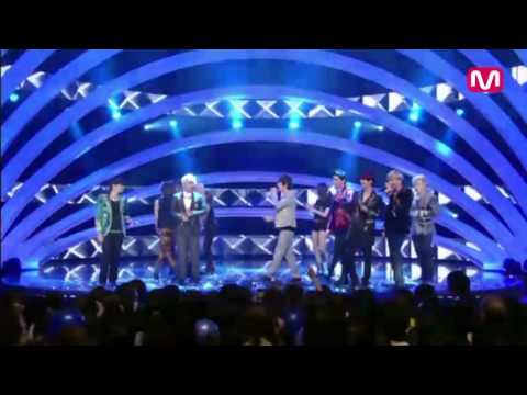 120712 M! Countdown - Super Junior Full Encore