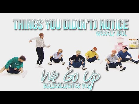 THINGS YOU DID(N'T) NOTICE in WE GO UP [Rollercoaster Ver.]  // NCT DREAM