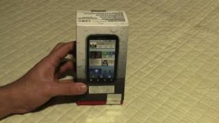 Motorola Defy, Water and Dust Resistant, Unboxing and product tour