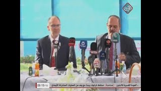 سفير واشنطن في بغداد دوغلاس سليمان يزور نقابة الصحفيين ...