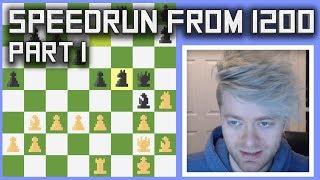 Aman Hambleton Bullet Chess Speedrun   Part 1