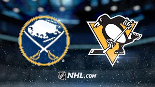 Sheary, Penguins edge Sabres in overtime, 5-4