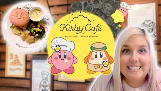 Kirby Cafe in Japan! Cute food and merch vlog at Tokyo Skytree