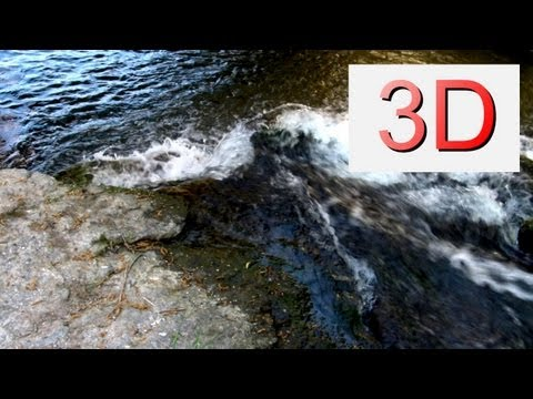 3D Video: Waterfall Relaxation #3