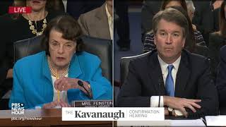 On Second Amendment, Kavanaugh says he must side with Supreme Court regardless of personal opinion