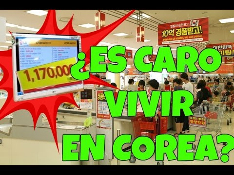 ¿Es caro vivir en Corea? - Super Mercado Coreano ♥ #DTEC