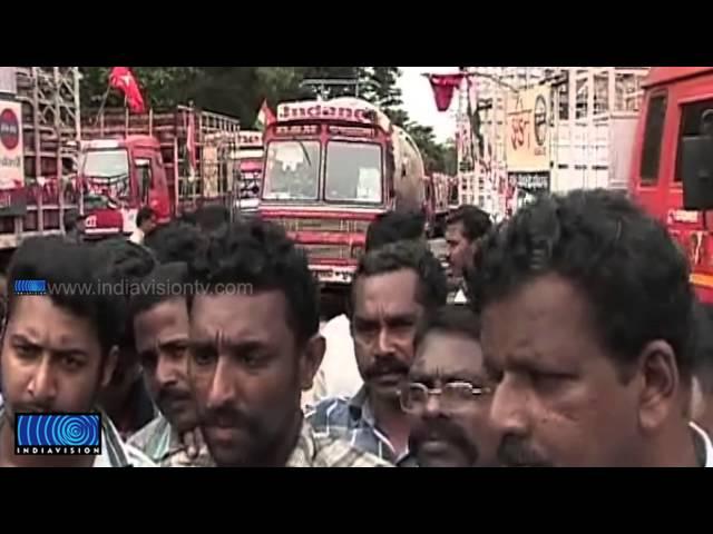 Parippally IOC plant truck strike continues: Govt siezes trucks through ESMA