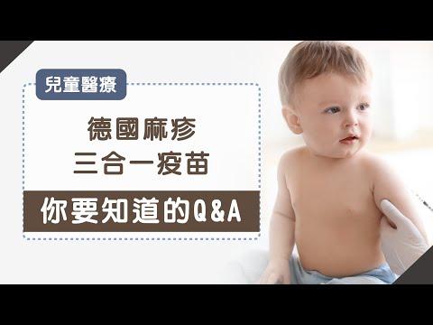 德國麻疹三合一疫苗Q&A
