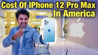 Cost Of IPhone 12 Pro Max In America | Iphone 12 Price | Indian Vlogger | Cinemetic Hindi Vlog