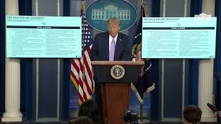 08/05/20: President Trump Holds a News Conference