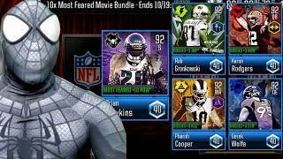 SPIDER-MAN MOST FEARED PACK OPENING + 92 OVR BOSSES! Madden Mobile 19 Overdrive Gameplay Ep. 13
