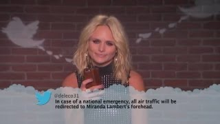 Country Stars Read Hilarious 'Mean Tweets': Miranda Lambert, Dolly Parton, Little Big Town, and More