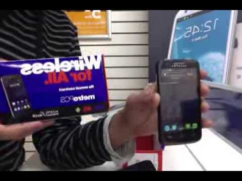 Alcatel OneTouch Evolve Unboxing & Review – Metro PCS