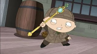 Stewie As Detective Sherlock Holmes - Family Guy