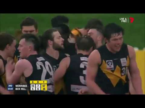 Elimination Final Highlights: Werribee vs Box Hill Hawks
