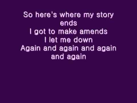 Pink - Heartbreak down - lyrics on screen