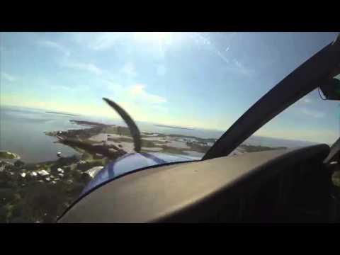 Banyan Aircraft Sales team captured the KODIAK flying into Cedar Key with a GoPro