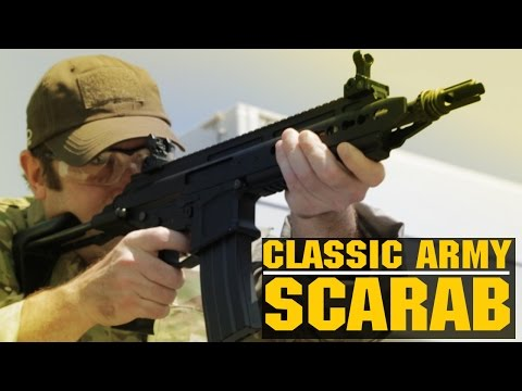 Classic Army Scarab M4 PDW Airsoft AEG Prototype Overview | AirsoftGI.com