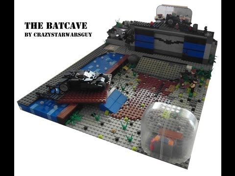 Lego City Batcave Lego Batman Moc The Batcave
