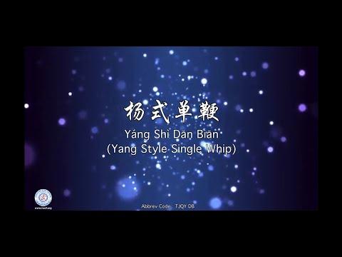 Yáng Shì Dān Biān(Yang Style Single Whip)