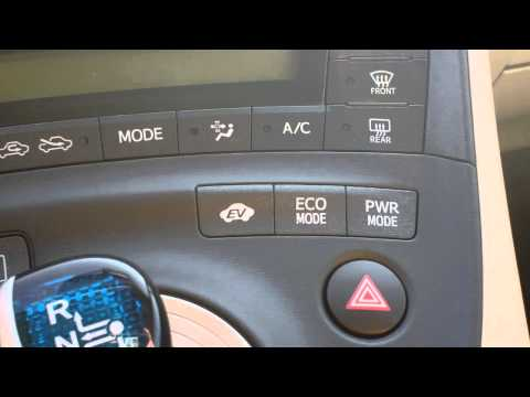 HOW TO USE THE ECO MODE AND POWER MODE ON YOUR PRIUS