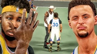 GUARDING FAKE WANNABE STEPHEN CURRY! NBA 2K17 MyPark Gameplay Ep. 5