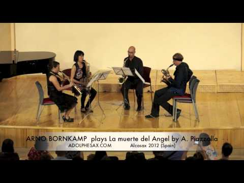 ARNO BORNKAMP  plays La muerte del Angel by A  Piazzolla