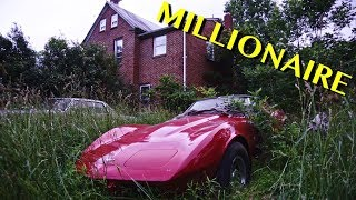 Abandoned Millionaires Mansion With Luxury Cars Left Behind!!!