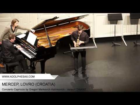 Dinant 2014 - Mercep, Lovro - Concerto Capriccio by Gregori Markovich Kalinkovich