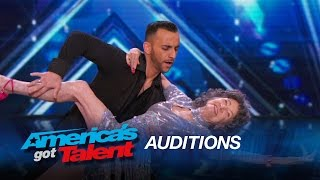 Tao Porchon-Lynch & Vard: 96-Year-Old Dancer Shows Off Her Skills - America's Got Talent 2015