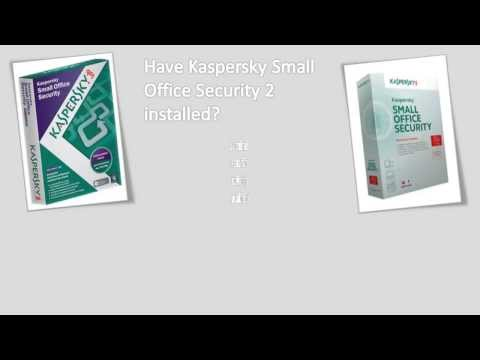 How to upgrade to Kaspersky Small Office Security 3